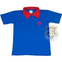 Polo Infantil Mangalarga Marchador Azul 6118-marchador Style