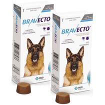 Bravecto Comprimido 20 A 40 Kg - Combo Com 2