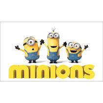 Painel Para Festa Aniversário Minions M1