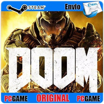 Doom 2016 + Dlc Original Steam Cdkey Gift Pc