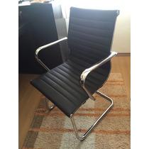 Cadeira Executiva Preta Tok Stok Ordi Com Braços Semi Nova