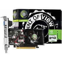 Placa Vídeo Geforce 210 1gb Ddr2 Hdmi Dvi 64b Point Of View