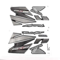 Adesivo Cbx250 Twister 2007 Preta Kit