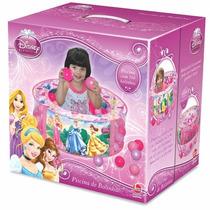 Piscina Infantil De Bolinhas Da Princesa Novo