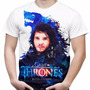 Camiseta Masculina Game Of Thrones Jon Snow Camisa Got