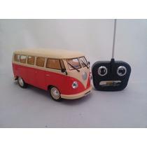 Vw Carro Kombi Controle Remoto Vermelha + Frete Gratis