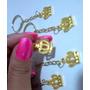 25 Mini Coroa Dourada C/ Chaveiro Por R$ 19,99