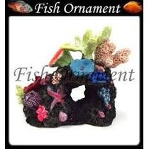 Enfeite De Resina - Aquário - Boyu - Cw 146 Fish Ornament