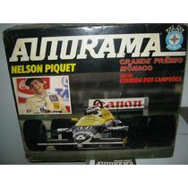 Autorama Estrela Nelson Piquet Gp Mônaco Original Completo
