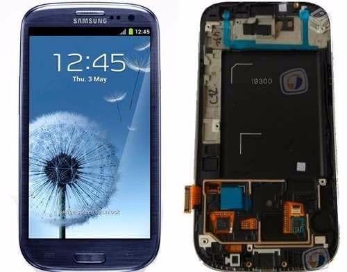Tela Display Touch Screen Galaxy  S3 I9300 Siii Azul