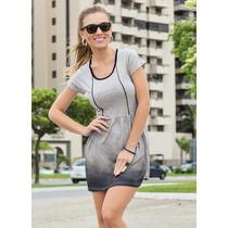 Vestido Feminino Esportivo Tie Dye