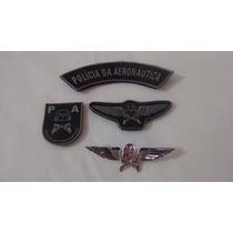 Kit Polícia Da Aeronáutica - Pa 4 Peças