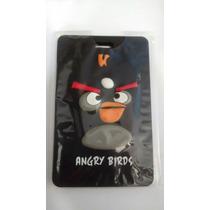 Tag Para Malas De Viagem Angry Birds Preto