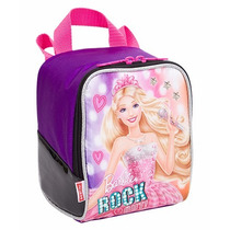 Lancheira Nova Barbie Rock