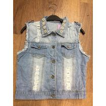 Colete De Jeans Feminino Moda Atacado 45.99