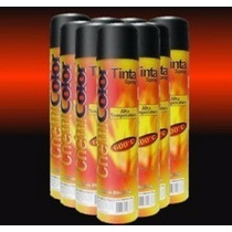 Tinta Spray Preto Fosco Alta Temperatura Chemicolor 400ml