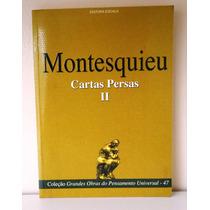 Livro Cartas Persas Il - Montesquieu - Texto Integral 2006