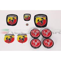 Kit Nº2 Adesivos Abarth P/ Fiat Bravo