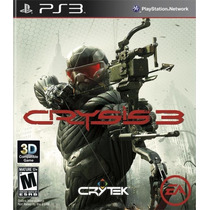Jogo Crysis 3 Ea Ps3 Game Playstation 3 Tiro Mídia Física Nf