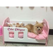 Berço Mdf Para Cães,cama Madeira Cachorros E Gatos Tamanho P