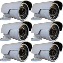 Kit 6 Câmera Externa Ip 1.3mp Hd 720p Onvif 2.4 (intelbras)
