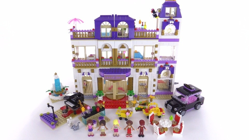 Lego Friends Heart Lake Grand Hotel 411011 Online Casino Reviews