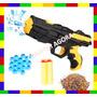 Arminha De Bolinha Macia Cristal Brinquedo Arma De Pressão