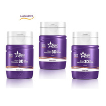 Kit 3 Magic Color Desamarelador Matizador 3d Ice Blond 100ml