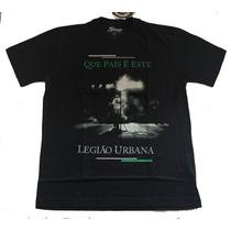 Camiseta Legião Urbana Que País É Este? Stamp