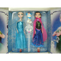 2 Bonecas Do Filme Frozen Musical Anna E Elsa Pronta Entrega