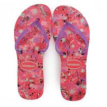 Chinelo Feminino Havaianas Flat Style - Rosa