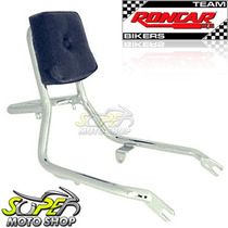 Sissy Bar Encosto Roncar Com Bagageiro Intruder 125 - Suzuki