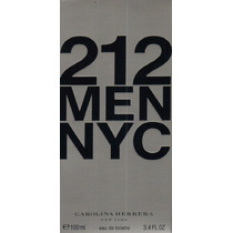 Perfume 212 Carolina Herrera 100ml Edt Masculino Original
