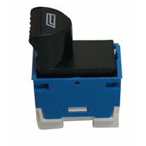 Botão Interruptor Comando Vidro Elétrico Palio Azul / Branco