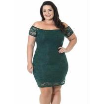 Vestido Verde Miss Masy Plus Size Renda
