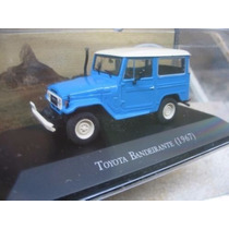 Carros Inesquecíveis-miniatura Metal - Toyota Bandeirantes