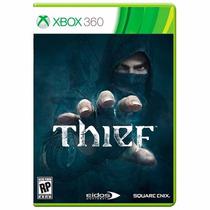 Thief Xbox 360 Novo Lacrado Mídia Física Promoção + Brinde