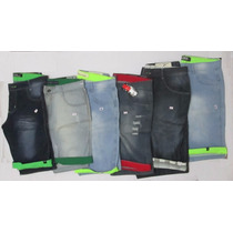 Kit Bermuda Jeans Masculino Lote 10 Unidade Preço De Atacado