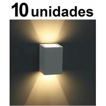 10 Un. Luminária Balizador Arandela Facho Ext. Germany 15100