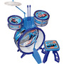 Instrumento Musical Bateria Infantil Hot Wheels Original Fun