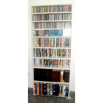 Estante Organizadora De Cd`s -dvd S- Livros-multi Uso Tall