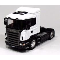 Caminhão Escala Em Miniatura Welly Scania R470 1:32