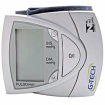 Aparelho Medidor Pressão Digital Pulso Bp3af1 G-tech Master
