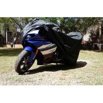 Capa Protetora C/ Forro Térmico Para Moto Esportiva Carenada