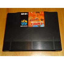 Neo Geo Aes Burning Fight Snk Neogeo Caseiro Japones Origina