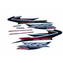 Kit Adesivos Honda Xr 250 Tornado 2004 Branca