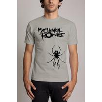Camiseta My Chemical Romance Banda De Rock Frete Gratis