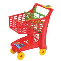 Carrinho De Compras Market Vermelho - Magic Toys