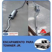 Escapamento Para Towner Jr. Original