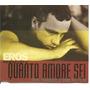 Cd Single - Eros Ramazzotti - De Todo Coração - Quanto Amore